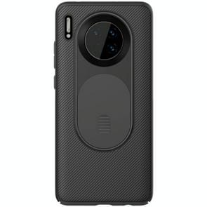For Huawei Mate 30 NILLKIN CamShield Sliding Camera Cover Design Scratchproof Protective Case(Black)