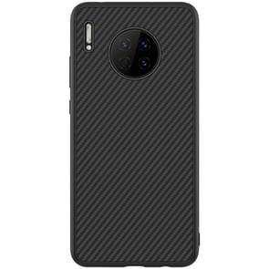 For Huawei Mate 30 NILLKIN Synthetic Fiber Anti-slip PC Protective Case(Black)