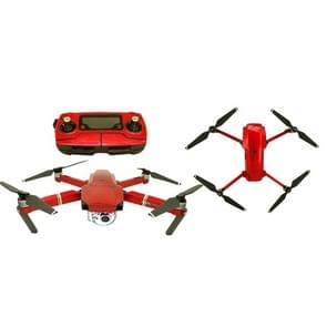 Waterdichte all-surround zelfklevende sticker voor DJI Mavic Pro (Ice Red)