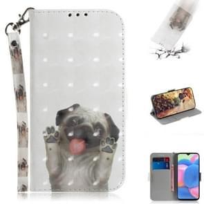 Voor Huawei mate 30/5G 3D gekleurde tekening horizontale Flip PU lederen draagtas met houder & kaartsleuven & portemonnee (PUG)