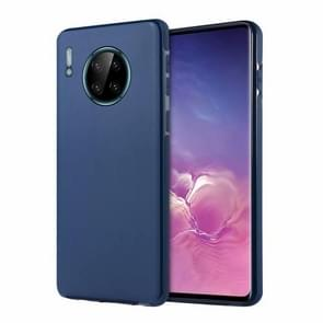 For Huawei Mate 30 SULADA Car Series Magnetic Suction TPU Protective Case(Blue)