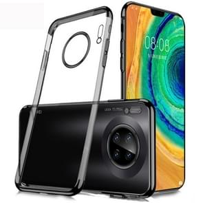 For Huawei Mate 30 SULADA Shockproof TPU Plating Protective Case(Black)