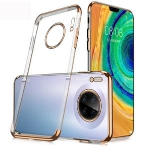 For Huawei Mate 30 SULADA Shockproof TPU Plating Protective Case(Gold)