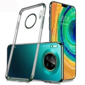 Voor Huawei mate 30 SULADA schokbestendige TPU plating beschermende case (groen)