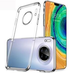 Voor Huawei mate 30 SULADA schokbestendig TPU plating beschermende case (zilver)