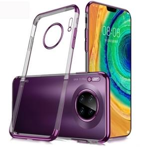 Voor Huawei mate 30 SULADA schokbestendige TPU plating beschermende case (paars)