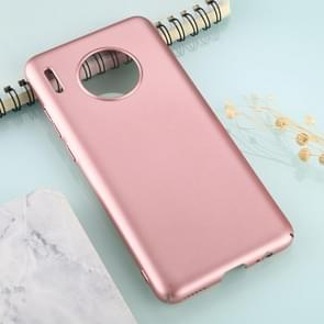 For Huawei Mate 30 Solid Color Plastic Protective Case(Rose Gold)