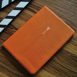 Voor iPad Pro 9 7 inch GEBEI PU + TPU horizontale Flip beschermhoes met houder & kaartsleuven (bruin)