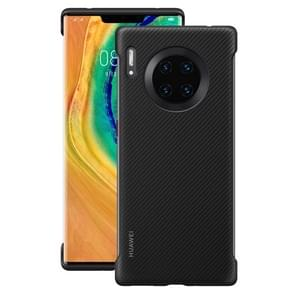 For Huawei Mate 30 Pro Original Huawei Shockproof PU Leather Protective Case(Black)