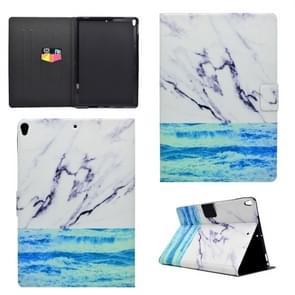 Voor iPad Pro 10 5 inch TPU horizontale Flip lederen draagtas met houder & kaartsleuf & slaap/Wake-up functie (Oceaan)
