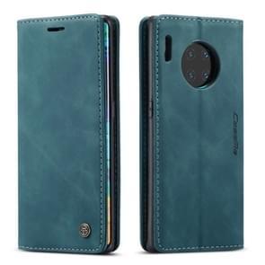 Voor Huawei mate 30 Pro 4G/5G CaseMe-013 multifunctionele horizontale Flip lederen draagtas met kaartsleuf & houder & portemonnee (blauw)