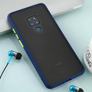 For Huawei Mate 20 Skin Hand Feeling Series Anti-fall Frosted PC+ TPU Case(Blue)