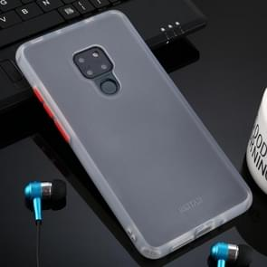 Voor Huawei mate 20 huid hand gevoel serie anti-Fall Frosted PC + TPU case (transparant)