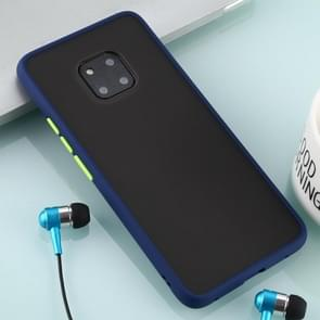 For Huawei Mate 20 Pro Skin Hand Feeling Series Anti-fall Frosted PC+ TPU Case(Blue)