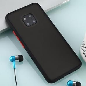 For Huawei Mate 20 Pro Skin Hand Feeling Series Anti-fall Frosted PC+ TPU Case(Black)