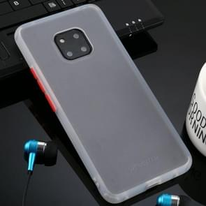 Voor Huawei mate 20 Pro huid hand gevoel serie anti-Fall Frosted PC + TPU case (transparant)