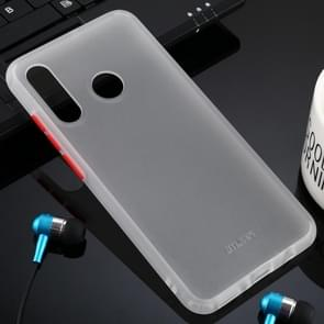 For Huawei P30 Lite Skin Hand Feeling Series Anti-fall Frosted PC+ TPU Case(Transparent)