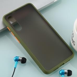 Voor Xiaomi mi 9 huid hand gevoel serie anti-Fall Frosted PC + TPU case (groen)
