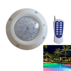 Swimming Pool ABS Wall Lamp LED Underwater Light, Power:6W(Colorful + Remote Control)