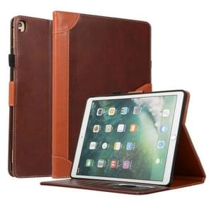 For iPad Air / Air 2 / Pro 9.7 inch Business Book Style Horizontal Flip Leather Case with Holder & Card Slots & Wallet(Brown)