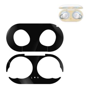 Voor Galaxy Buds Wireless Bluetooth oortelefoon Metal Protective Sticker(Zwart)