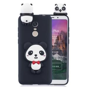 For Xiaomi Redmi 5 Plus 3D Cartoon Pattern Shockproof TPU Protective Case(Red Bow Panda)