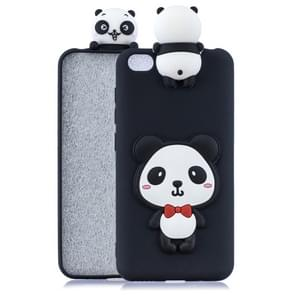 For Xiaomi Redmi GO 3D Cartoon Pattern Shockproof TPU Protective Case(Red Bow Panda)