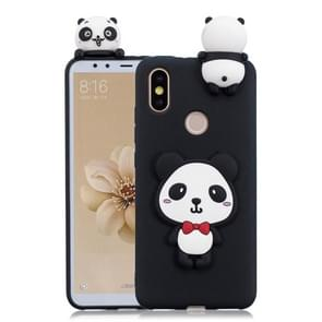 For Xiaomi Mi 6X / A2 3D Cartoon Pattern Shockproof TPU Protective Case(Red Bow Panda)