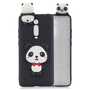 For Xiaomi 9T / Redmi K20 3D Cartoon Pattern Shockproof TPU Protective Case(Red Bow Panda)