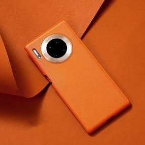 Voor Huawei mate 30 JOYROOM Star-Lord serie lederen gevoel textuur shock proof geval (oranje)