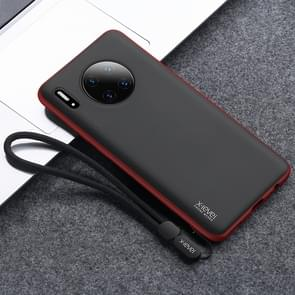 Voor Huawei mate 30 Pro X-level kever serie all-inclusive PC + TPU case met Lanyard (rood)