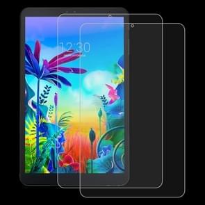 2 stuks 9H 2.5 D explosieveilige gehard glas film voor LG G Pad 5 10,1 inch
