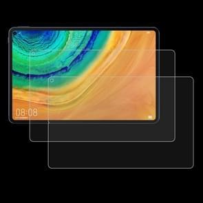 2 stuks 9H 2.5 D explosieveilige gehard glas film voor Huawei MatePad Pro 10,8