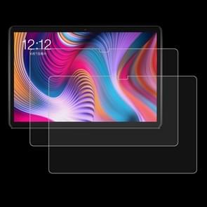 2 stuks 9H 2.5 D explosieveilige gehard glas film voor Teclast T30