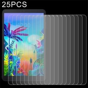 25 stuks 9H 2.5 D explosieveilige gehard glas film voor LG G Pad 5 10,1 inch