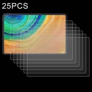25 stuks 9H 2.5 D explosieveilige gehard glas film voor Huawei MatePad Pro 10,8
