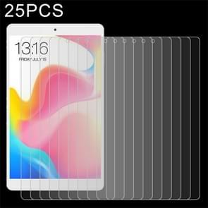 25 stuks 9H 2.5 D explosieveilige gehard glas film voor Teclast P80 Pro