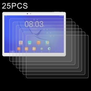 25 stuks 9H 2.5 D explosieveilige gehard glas film voor Teclast T10