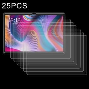 25 stuks 9H 2.5 D explosieveilige gehard glas film voor Teclast T30