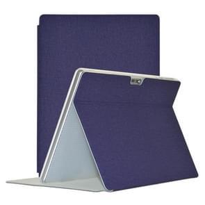 Voor TECLAST M30 TECLAST Business Style Horizontale Flip PU lederen beschermhoes met houder (blauw)