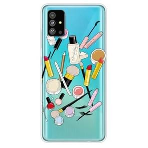 Voor Galaxy S20 Painted TPU Protective Case(Cosmetics)