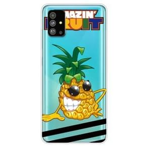 Voor Galaxy S20 Painted TPU Protective Case(Pineapple)