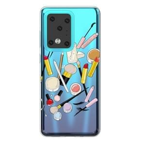 Voor Galaxy S20 Ultra Painted TPU Protective Case(Cosmetics)