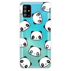 Voor Galaxy S20 Lucency Painted TPU Beschermhoes (Panda)