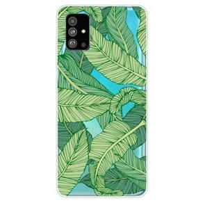 Voor Galaxy S20 Lucency Painted TPU Protective Case (Banana Leaf)