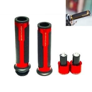 Motorcycle Modification Accessoires Hand Grip Cover Stuur Set (Rood)