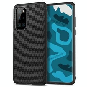 Voor Huawei P40 Pro Lenuo Leshen Series Stripe Texture TPU Protective Case(Zwart)