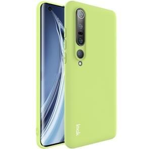 Voor Xiaomi Mi 10 Pro 5G IMAK UC-1-serie shockproof matt TPU beschermhoes (Groen)