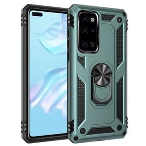 For Huawei P40 Shockproof TPU + PC Protective Case with 360 Degree Rotating Holder