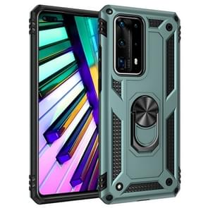 For Huawei P40 Pro Shockproof TPU + PC Protective Case with 360 Degree Rotating Holder